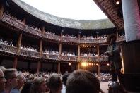 London (15-21 July 2017): Shakespeare's Globe Theatre