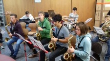 12.-16.09.2017: Die Big Band profitiert vom professionellen Coaching durch die Musiker der Mia Knop Jacobsen Band