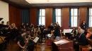 08.11.2017: Die Big Band begrüßt Generalkonsul Jim Herman am SG