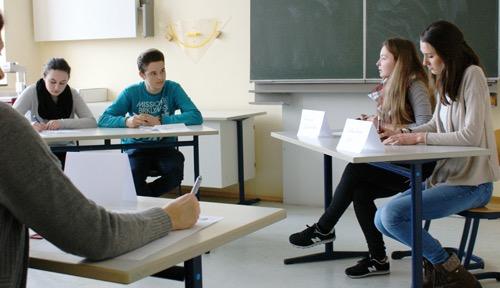 Jugend debattiert am Schubart-Gymnasium im Feb. 2015