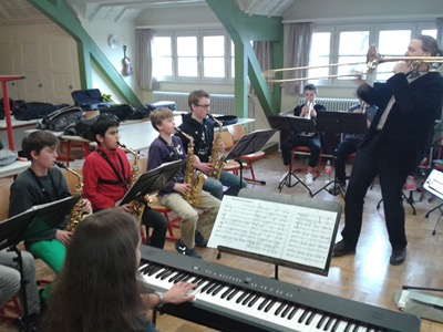 Big Band-Workshop mit Markus Geiselhart am SG