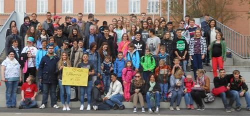 Donnerstag, 23. April: Die Jagsttalschule Westhausen zu Besuch am SG im Rahmen der Kooperation beider Schulen.