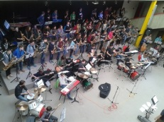 Big Band bei Jazz-Symposium in Osterburken