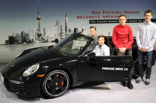 """15% in 3 Monaten: Das Siegerteam """"MALT"""" mit Moritz Brunner, Alex Oppold, Luca Maron und Tobias Frömelt (K1)"""