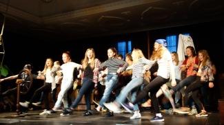 30.03.2017: Piraten und Insulaner einträchtig vereint beim Tanzen