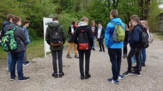 Mai 2017: Schülerinnen und Schüler der Klassen 9 erleben die erschütternde Geschichte des Konzentrationslagers in Dachau