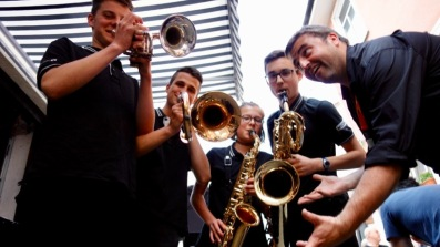 02.06.2017: Big Band groovt im Café Wunderlich