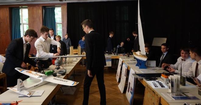 """30.06.2017: Die Seminarkurse """"Technik"""" aus dem MPG Heidenheim und dem SG präsentieren ihre Ergebnisse"""