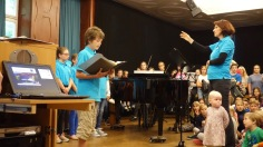 Schulfest, 25.07.2017: Die SG Voices