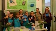 Schulfest, 25.07.2017: die neuen ökologischen Vesperboxen des SG