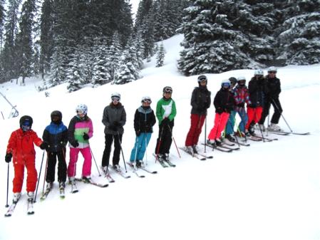 Im Skischulandheim