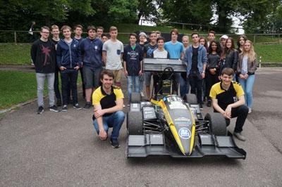 SG Racing Team   23.06.2016   Joseph Suppanz und Leonard John vom Karlsruher Institut für Technologie
