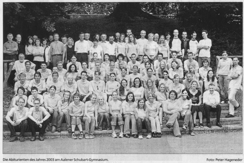 Ehemalige Abitur 2003