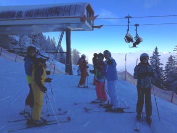 Herrlicher Skitag am Oberjoch (Wintersporttag 2016)