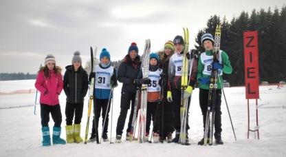 Januar 2017: Das SG qualifiziert sich für das Landesfinale am Notschrei, Schwarzwald
