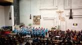 13.12.2017: Bewegte Weihnachtsmusik mit den SG Voices, dem Lehrerchor, dem Elternprojektchor und dem Orchester | Leitung: Astrid Borgmeier, Martin Eisner und Susanne Thier