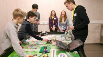 13.01.2018: Die Teams sind bereit fürs Robot Game