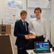 03.02.2018: Tobias Frömelt und Phil Bäuerle entwickelten für die Modellfluggruppe Ostalb autarkes kameragestütztes Objektüberwachungssystem