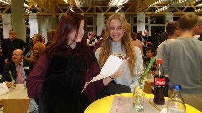 05.02.2018: Schülerinnen und Schüler der K1 bei einer Veranstaltung der Rotarier zur Berufsorientierung