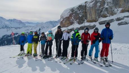 05.-09.02.2018: Toller Schnee auf dem Ifen beim Skischullandheim der Klassen 7ab