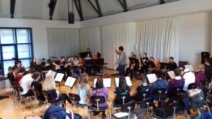 14.03.2018: Als eine von insgesamt fünf Schul-Big-Bands aus ganz Baden-Württemberg hat die SG Big Band beim 20. SchülerJazzfestival des Kultusministeriums in Stuttgart teilgenommen