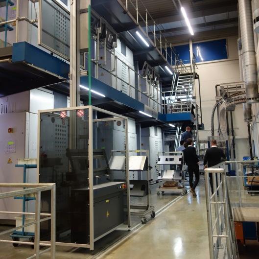 20.03.2018: Die Rotationspresse des Druckzentrums Hohenlohe-Ostalb