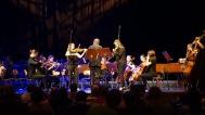 11.04.2018: Das KGW bietet Kammermusik auf höchstem Niveau — hier mit Antonia Carola und Amelie Reinhardt (beide Violine). Die Leitung hat Alexander Rube.