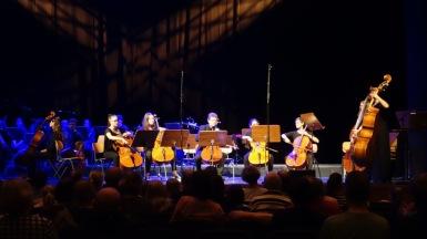 """11.04.2018: """"Einfach cellikat!"""" — das Cello-Ensemble des KGW unter der gemeinsamen Leitung von Amelie Bruno und Alexander Rube"""