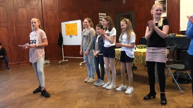Le 12 avril 2018: « Le Grand Oscar »   un théâtre de la classe 6bc